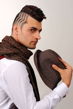 SP Men Competition entry from TURKEY, Salon Dağlı Barber Shop. Look: Bold Masculinity.