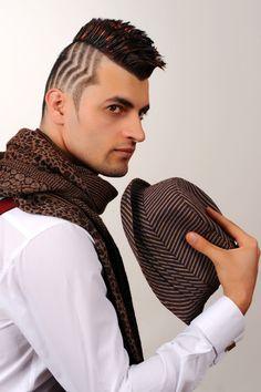 SP Men Competition entry from TURKEY, Salon Dağlı Barber Shop. Look: Bold Masculinity.