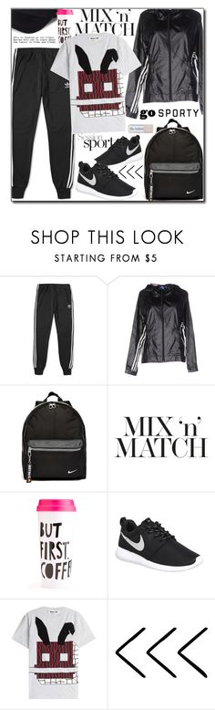 """Mix and Match 24"" by adnaaaa ❤ liked on Polyvore featuring adidas, NIKE, McQ by Alexander McQueen, MixandMatch and gosporty"