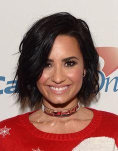 Demi Lovato at the #Y100JingleBall in Florida - December 18th