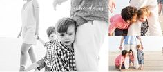 candid moments during photo shoot of family pictures in Avalon NJ - photos by Karrie Davis Photography