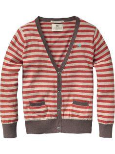 Basic button-through cardigan - Pulls - Scotch & Soda Online Shop