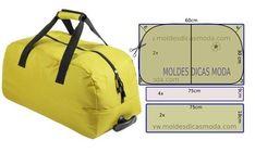Diy Bags Patterns, Purse Patterns, Patchwork Bags, Quilted Bag, Diy Dog Bag, Bag Quilt, Sac Week End, Diy Backpack, Diy Mode