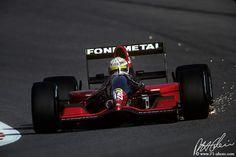 1992 GP Belgii (Gabriele Tarquini) Fondmetal GR02 - Ford