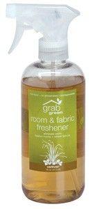 Enviromentally-friendly Room and Fabric Freshener Vetiver 16 oz