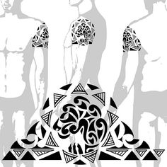 tatuagem.polinesia.maori.0115 by Tatuagem Polinésia - Tattoo Maori, via Flickr