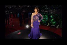 Sharmín Díaz En La Camara 360 De La Alfombra Roja De Los Premios Soberano #Video
