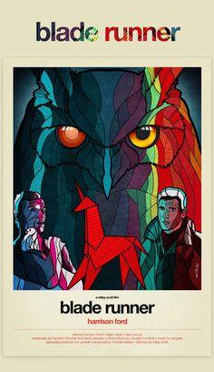Blade Runner #alternative #movie #posters #art