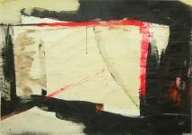 O.T. 2007, 126 x 178 cm Acryl/Papier