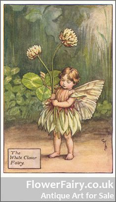 One of the Famous Flower Fairies
