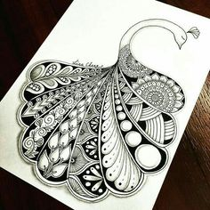 694 best Mandalas images in peacock mandala drawing collection - ClipartXtras Doodle Paint, Doodle Art Drawing, Zentangle Drawings, Doodles Zentangles, Pencil Art Drawings, Zentangle Patterns, Art Drawings Sketches, Mandalas Painting, Mandalas Drawing