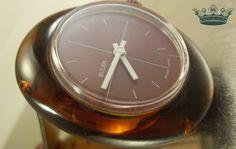 """Armbanduhren - """"Brownie"""" 70er Vintage Swiss Made Damenuhr braun - ein Designerstück von Mont_Klamott bei DaWanda"""