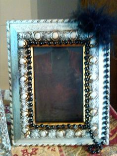 Just one of my repurposed frames..Create Beautiful by: Carol Penhale
