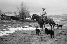 John Langmore: Open Range – Photographing America's Big Outfit Cowboys « The Leica Camera