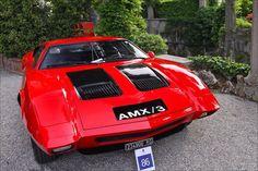 VOITURES DE LEGENDE (536) : AMERICAN MOTORS  AMX/3 - 1970