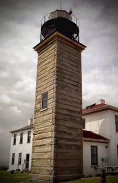 ✮ Beavertail Lighthouse, built in 1749, the premier lighthouse in Rhode Island