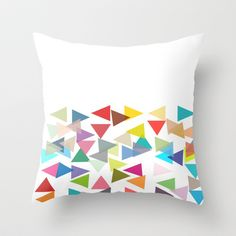 Free Shipping! Party Throw Pillow by TT+SMITH by Haina - $20.00
