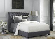 Grey Linen FabricWith Grey Bedroom Sets