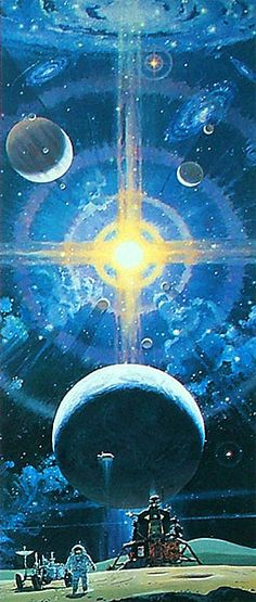 Robert McCall space mural