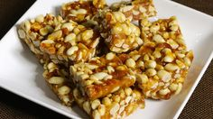 Peanut chikki or peanut brittle is a delicious homemade candy. This recipe is super simple and easy with very few ingredients, peanuts, sugar and touch of ginger and salt. Ginger adds a very nice tanginess to the chikki.