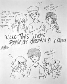 And on the right is the girl that should be with them. Annabeth and Reyna bc there on the right