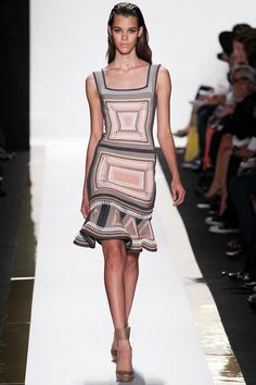 Hervé Léger by Max Azria   Spring 2014 Ready-to-Wear Collection   Style.com