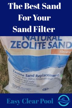 There are a variety of sand mediums you can use in your sand filter. Zeolite sand does cost a little more, but is it worth it? The best sand to use when filtering your swimming pool. Above Ground Pool, In Ground Pools, Swimming Pool Filters, Swimming Pools, Solar Pool Heater, Pool Sand, Pipe Sizes, Pool Maintenance, Things To Come