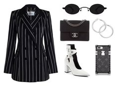 """Untitled #400"" by themodlook ❤ liked on Polyvore featuring Robert Clergerie, Chanel, Zimmermann and louisvuitton"