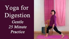 Yoga for Digestion (Gentle Yoga for bloating, gas, cramps, overeating, c...