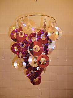 cd chandelier
