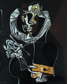 Portrait of a painter, after El Greco, 1950. Pablo Picasso