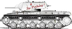Engines of the Red Army in WW2 - KV-1 Model 1939 Heavy Tank