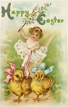 Cutest Easter Girl Image