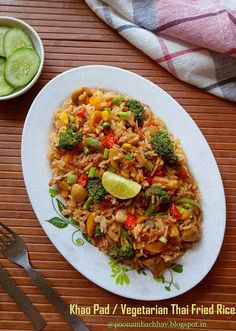 Annapurna: Khao Pad / Vegetarian Thai Fried Rice