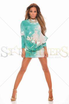 MissQ Strong Glitter Green Dress