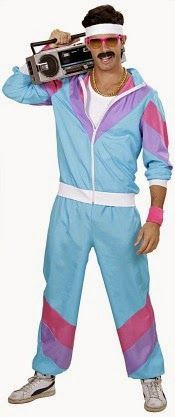 80s Shell Suit costume for men
