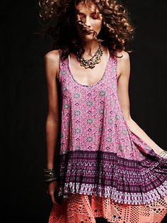 boho. Just found out one of my fave styles is Bohemian. I always thought it was flower child era...:)
