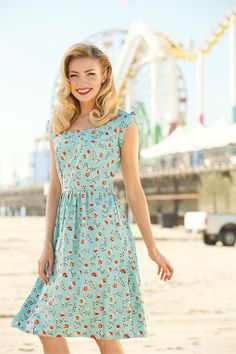 Neap Tide Dress  like the French girl's dresses in the hundred foot journey! Need one...yellow?
