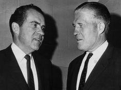 Pres. Richard Nixon and Michigan Gov. George Romney