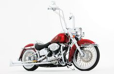 2005 Harley Davidson Softail Deluxe Side View 01