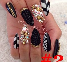 Blinged out design