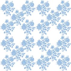 Swedish Rose Trellis by LilyOake, available at Spoonflower in fabric and wallpaper