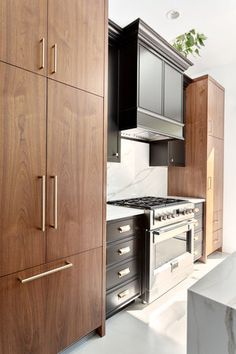 Kitchen by Madeleine Design Group, part of an award-winning Luxury Laneway home renovation in Vancouver, BC.