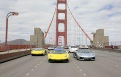 LamboGiro at the Golden Gate Bridge