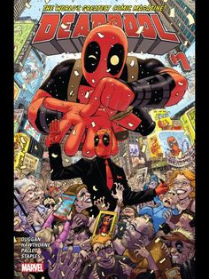 "Video review of the new (2015) Deadpool #1, which is the first Deadpool book published after Marvel's huge Secret Wars event. This comic book opens ""eight mo..."