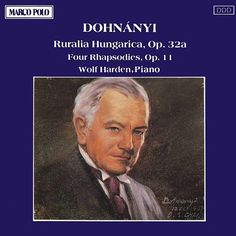 DOHNANYI: Ruralia Hungarica / Four Rhapsodies-Wolf Harden-Marco Polo