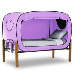 Privacy Pop Bed Tent  ~ looks like fun!