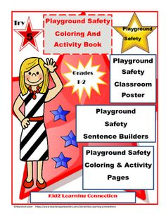 This fun playground safety bundle is packed full of word work learning… Character Education, Career Education, Classroom Activities, Learning Activities, Teaching Ideas, Teacher Resources, Teacher Pay Teachers, School Resources, Playground Safety