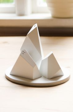 Iceberg salt + pepper shakers Product Design #productdesign
