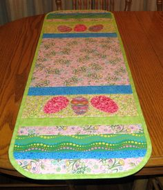 Easter Table Runner Kb And Placemats Pattern Quilted